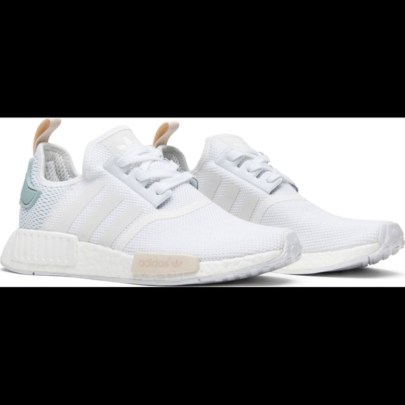 more photos d0462 4003c Women's Adidas NMD_R1 Shoes White 'Tactile Green'